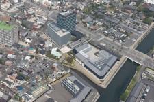 名古屋_05_ミツカングループ本社地区再整備_鳥瞰